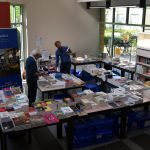 Stand de notre partenaire, la librairie Mollat